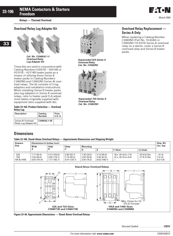 Image of an Eaton H2014B-3 data sheet page 4
