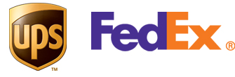 Image of UPS and FedEx Logos