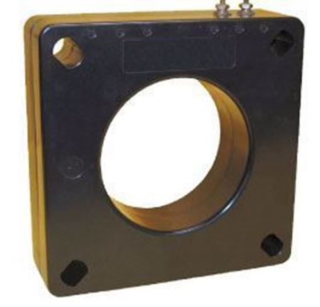 Picture of GE Model 100-252 600 Volt Current Transformer