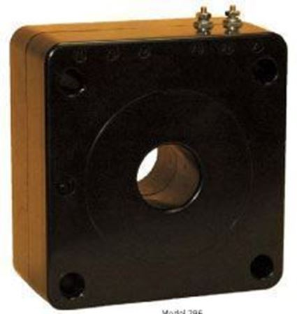 Image of GE 296-102 600 Volt Current Transformer