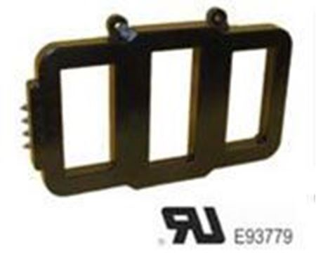 Image of a GE Model 3P669-162 low voltage switchegear transformer