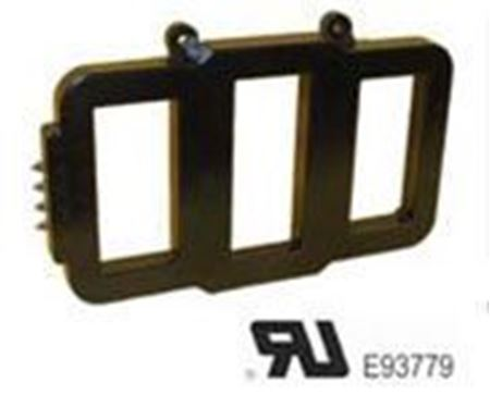 Image of a GE Model 3P669-252 low voltage switchegear transformer