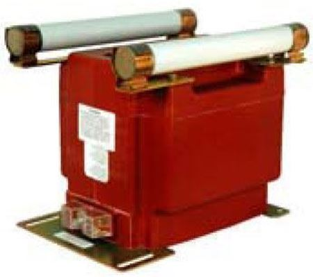 Image of a GE Model PTW5-1-110-123S voltage transformer