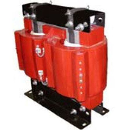 Image of a GE Model CPTN5-95-25-123A control power transformer