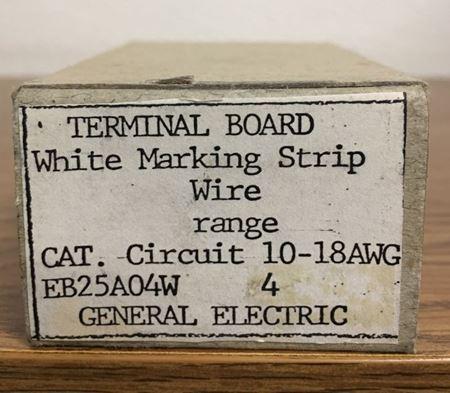 Box view of a GE EB25A04W terminal board