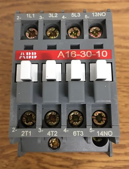Front view of an A16-30-00-51 ABB contactor
