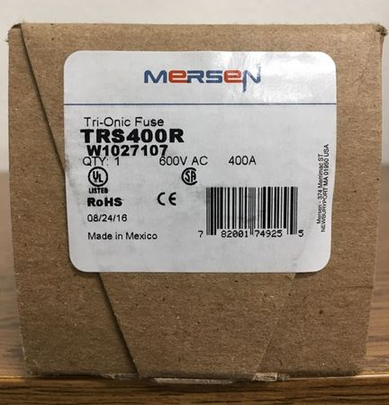 the box of a Mersen TRS400R fuse