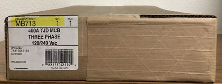Image of the box for a GE MB713 main breaker kit