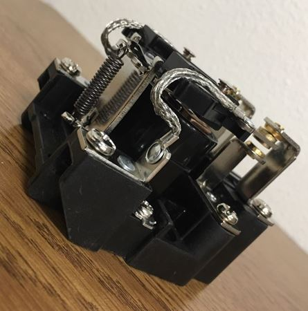 Image of the angle of a SIEMENS 3TX7130-0DF13 open power relay