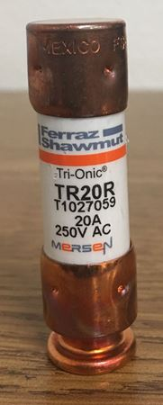 the front of a Mersen TR20R fuse