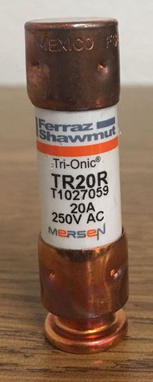 Image of the front of a Mersen TR20R fuse