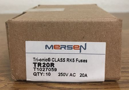 the box of a Mersen TR15R fuse