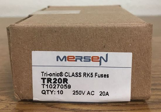 Image of the box of a Mersen TR15R fuse