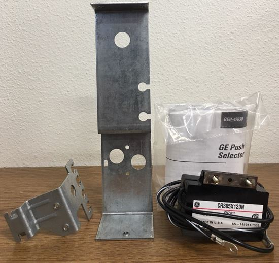 the front of a GE CR305X120N Pushbutton Kit
