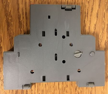 Image of the side of an ABB HK1-11 auxiliary contact