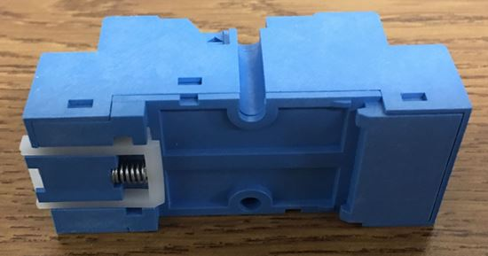 Image of the back of a Finder Relay 94.74 Screw Terminal Socket