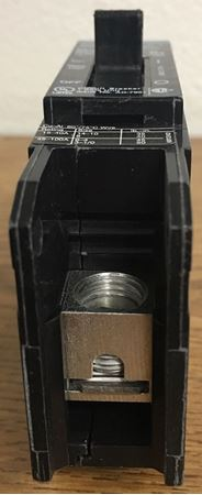Image of the end of a BQD120 SIEMENS molded case circuit breaker
