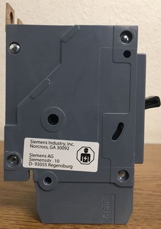 Image of the side of a BQD230 SIEMENS molded case circuit breaker