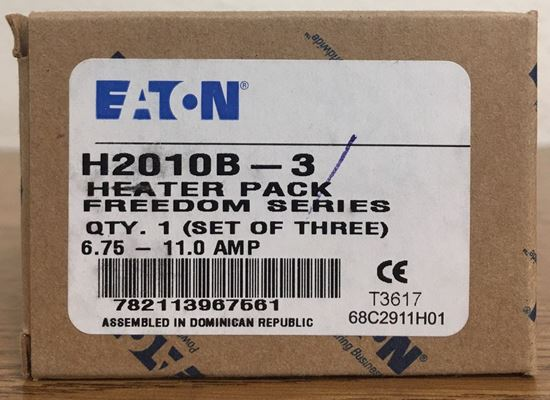 Image of the box of an Eaton H2010B-3 heater pack