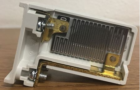 Image of the side of an Eaton H2004B-3 heater pack