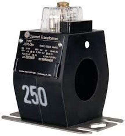 a GE JCR-0W 750X134610 600 Volt Current Transformer