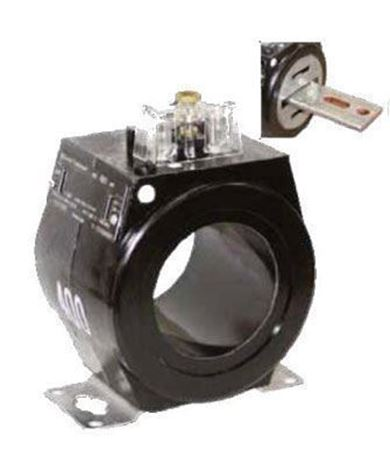 Image of a GE JAK-AC 750X133592 600 Volt Current Transformer
