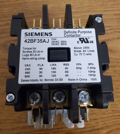Picture of 42BF35AJ - SIEMENS Contactor