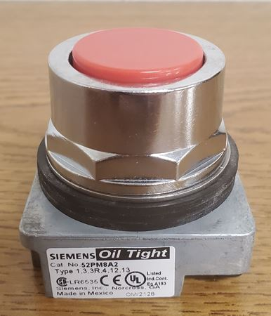 Picture of 52PM8A2 - SIEMENS Push Button